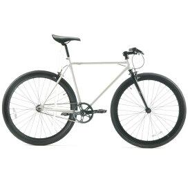 レインボー T-STREET ピスト クロスバイク ロードバイク 自転車 おしゃれ 通勤 通学 メンズ レディース T-STREET 700C グロスホワイト