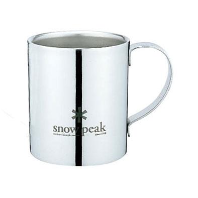 SNOW PEAK【スノーピークロゴダブルマグ240】スノーピーク