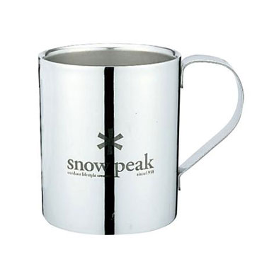 SNOW PEAK【スノーピークロゴダブルマグ330】スノーピーク