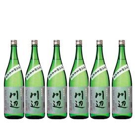 【20日エントリーで最大P8倍+α】【熊本豪雨被害支援】限定 川辺 純米焼酎 25度 1.8L 6本セット 繊月酒造