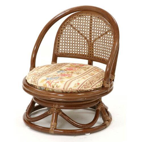 回転チェア回転いす 回転イス C401HRJ コンパクト軽量ミドルタイプ 回転籐椅子 回転椅子 回転座椅子 座いす 座イス 格安 激安 CT17