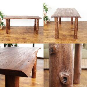 インテリアショップランドマークがこだわりの無垢木製ダイニングテーブルを開梱設置便でお届け致します。