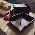 アジアン家具チーク無垢トレイR032KAアジアンチーク材ファイルフォルダ書類ケースレターケース書類トレー木製天然木アンティーク2015年新商品