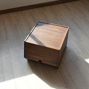 チーク無垢収納ボックスフタ付きスタッキングボックスおしゃれアジアンチーク木製アジアン家具アジアン雑貨R034KA