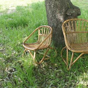 【WEB限定】キッズチェアラタンチェアアジアン子供椅子子供いす籐家具アジアンリゾートカフェおしゃれアンティーク調木製椅子籐椅子アジアン家具C155SME