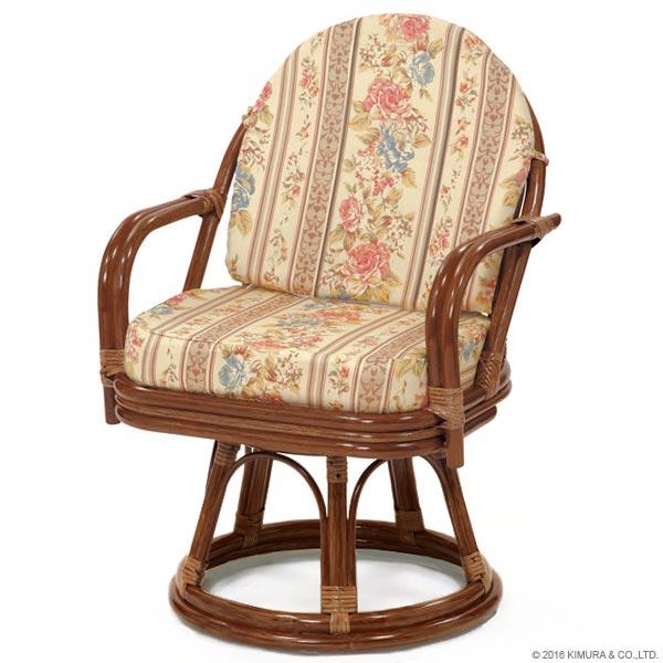 【あす楽】回転椅子 C713HRJS エクストラハイタイプ 回転チェア 回転座椅子 楽座椅子 籐 ラタン 格安 和 座椅子 アジアン  CT17