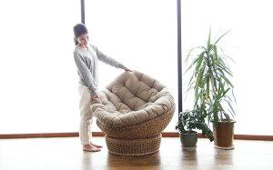 アジアン家具バリ家具パパサンチェアパパさんチェア1Pソファーウォーターヒヤシンスアジアンリゾートアバカエッグソファパーソナルチェア椅子いすC289ATZ
