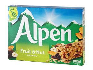 ウィータビックス アルペン シリアルバー フルーツ&ナッツ 28g×5本フルーツナッツ|weetabix Alpen