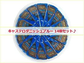 【14個セット◆送料無料】キャステロ ダニッシュブルー チーズ 100g×14パック デンマーク産※離水しやすい商品です|青かび|キャステロブルー|大容量|まとめ買い|業務用|大人買い|パックSSCO201812