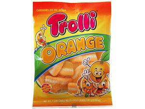トローリ オレンジ 100gグミ カラフルグミ