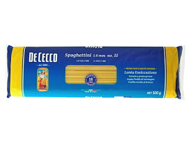 ◆国内正規品◆ディチェコ No.11 スパゲッティーニ(1.6mm)500g |DE CECCO_it