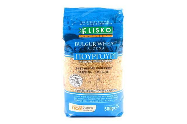 リスコ ブルガー小麦(粗挽き) 500g