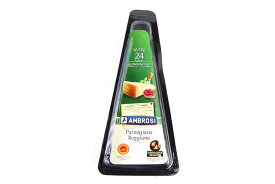 イタリア アンブロージ パルミジャーノ レジャーノ D.O.P 24ヶ月熟成 ウェッジカット 150g2年熟成|※パッケージが変更となっております※|レッジャーノ|DOP