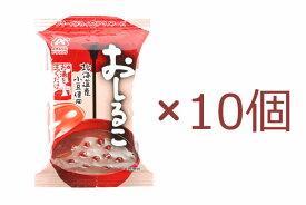 アマノ おしるこ 23.5g×10個 天野実業 オシルコ お汁粉 おしるこ