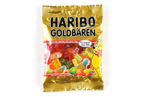 ハリボー ゴールドベア 100gグミ カラフルグミ