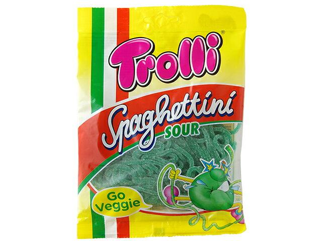 トローリ スパゲッティサワーアップル(アップル香料使用)100gグミ カラフルグミ