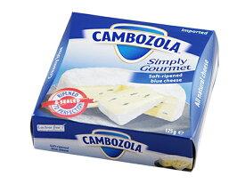 シャンピニオン カンボゾーラ 125g青カビ|白カビ|ゴルゴーンゾーラ|カマンベール