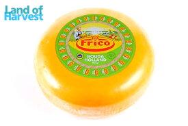 【送料無料】オランダ フリコ ワックスゴーダ マイルド 約4.5kg 不定貫1kgあたり通常税抜1,950円チーズ|ゴーダ|卸価格