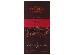 セモア 72%ダークチョコ 100gチョコレート 板チョコ|CHO※夏季クール便発送
