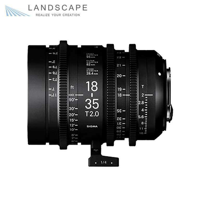 SIGMA High Speed Zoom Line 18-35mm T2 (EFマウント)