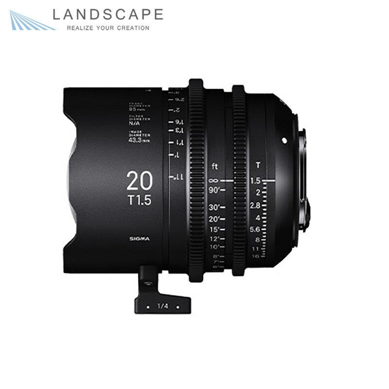 SIGMA FF High Speed Prime Line 20mm T1.5 FF (EFマウント)