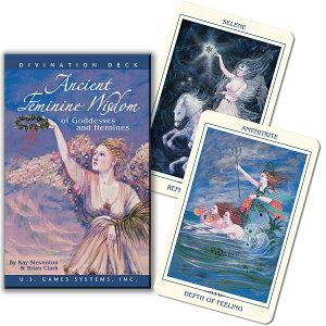 オラクルカード 52枚 【ウィズダム オブ ゴッデス アンド ヒロインズ オラクルカード 52枚 英語のみ】(ブライアン・クラーク ケイ・スティーベントン)Ancient Feminine Wisdom of Goddesses and Heroi