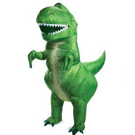 トイストーリー4 レックス恐竜 仮装 大人用 衣装 コスプレ ハロウィン ディズニー Disney Toy Story 4