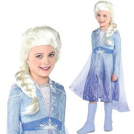 アナと雪の女王 2 ドレス 子供 エルサ なりきり ワンピース アナ雪 キッズ コスプレ 衣装 仮装 コスチューム Frozen 2