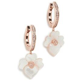 ケイトスペード ピアス アクセサリー 花 かわいい フラワー 揺れる シンプル ブランド Kate Spade