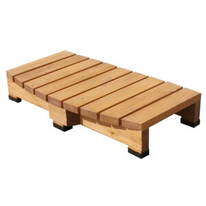 【期間限定クーポン配布中!ポイントアップも】デッキ縁台ステップ ライトブラウン/ダークブラウン 送料無料 踏み台 チェア 階段 ウッドデッキ風 簡単 縁側 本格的 DIY 木製 天然木 庭 ベ
