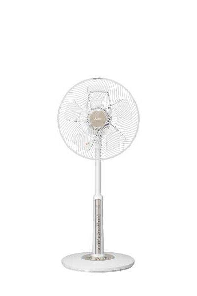 【送料無料】 [Mitsubishi/三菱電機]ACモーター リビング扇風機 5枚羽根 R30J-MV-Wクールホワイト[R30JMVW]