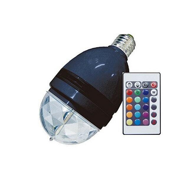 【タイムセール】【送料無料】[レッドスパイス]リモコン付きエレクトリックミラーボール RB-1404E166-BKインテリア照明 ブラック