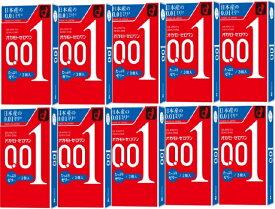 [10箱セット]【送料無料】[OKAMOTO/オカモト] ZERO ONE 0.01 たっぷりゼリー 3個入り コンドーム/極薄 ゼロワン たっぷりゼリー 10箱セット