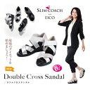 新作 スリムコーチ ダブルクロスサンダル 正規品  slimcoach Double Cross Sandal EICO式トレーニング 美脚 ダイ…