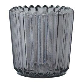 キャンドルホルダー ソレイユ(色:グレー)ガラス製 soleil インテリア カメヤマキャンドルハウス クリスマス