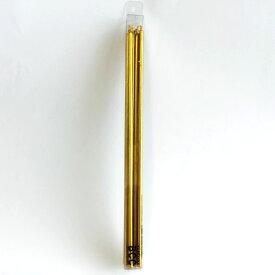 ゴールド バースデーキャンドル 18cm ミニスリム シルバー巻 パステル 10本 誕生日 パーティー ろうそく カメヤマキャンドルハウス クリスマス