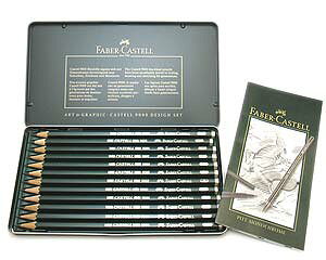 鉛筆 名入れ カステル9000番鉛筆 プロセットファーバーカステル ドイツ