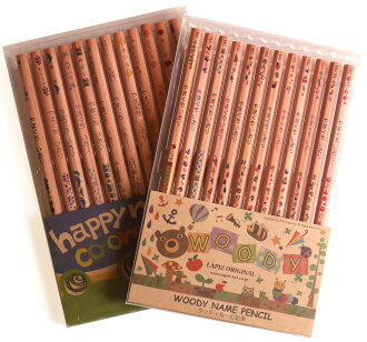 Woody neemu pencil + rearing neemu colored pencil set