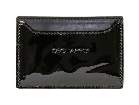 DSQUARED2 ディースクエアード カードケース CC4001 V025 20 BLACK メンズ 男性 ブラック【送料無料 並行輸入品】