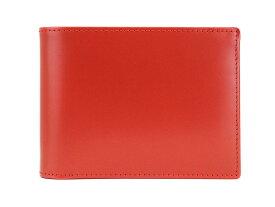 【ポイント5倍】ETTINGER エッティンガー 二つ折り財布 BH141JR Red メンズ 男性 レッド BRIDE HIDE ブライドルハイド【送料無料 並行輸入品】