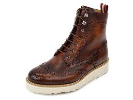 BALLY バリー 59%OFF 半額以下 革靴 6198991 COLLIMAN メンズ 男性 ショートブーツ レースアップ レザー ローファー CHESTNUT チェスナットブラウン 【送料無料 並行輸入品】