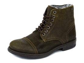 REPLAY リプレイ 革靴 GMC41 C0001L メンズ 男性 ショートブーツ レースアップ 056 TAN ブラウン 40-42 【送料無料 並行輸入品】