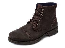 REPLAY リプレイ 革靴 GMC41 C0003L メンズ 男性 ショートブーツ レースアップ 018 DK BROWN ダークブラウン 40-42 【送料無料 並行輸入品】