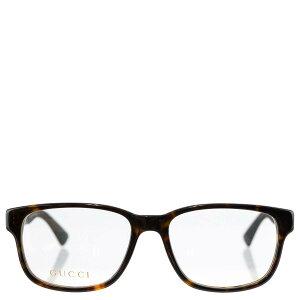 GUCCI グッチ 眼鏡 GG0011O 009 53 Optical Frame MAN ACETATE レディース 女性 メンズ 男性 ユニセックス 男女兼用 ウェリントン 伊達メガネ メガネフレーム フレーム サングラス HAVANA/BLACK TRANSPARENT ハバナ