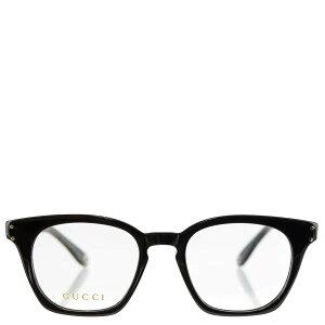 GUCCI グッチ 眼鏡 GG0572O 001 48 Optical Frame MAN ACETATE レディース 女性 メンズ 男性 ユニセックス 男女兼用 スクエア 伊達メガネ メガネフレーム フレーム サングラス BLACK/BLACK TRANSPARENT ブラック 【