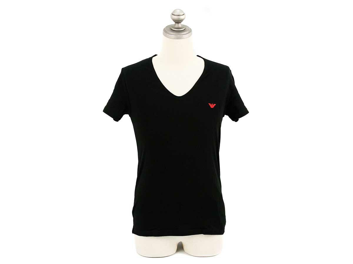 EMPORIO ARMANI エンポリオアルマーニ アンダーウェア シャツ 111417 4A510 0020 メンズ 男性 半袖Tシャツ BLACK ブラック【送料無料 並行輸入品】