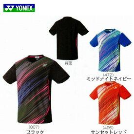 ゲームシャツ(フィットスタイル) UNI 10372 バドミントン スポーツウェア  YONEX ヨネックス