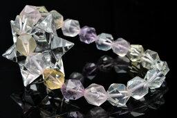 水晶混合物(石英派&流通燈)10mm手鐲 B320-10超过5000日圆