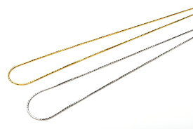 ネックレスチェーン ゴールド シルバー 2色 40cm Silver925 ネックレス_KZ110_op