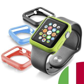 苹果看苹果手表案例苹果手表案例苹果手表案例苹果手表案例苹果手表盒盖 42 毫米电影封面 applewatch 保险杠 applewatch 保护细胞行 Cellularline